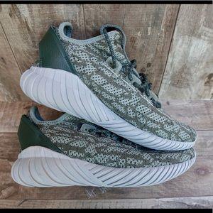 Adidas Tubular Doom Sock Primeknit Cargo Green
